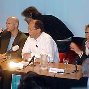 NLD/Aalsmeer/20070601 - Uitzending van de BNN grote  Donorschow, persconferentie, Laurens Drillich, Paul Römer en Patrick Lodiers