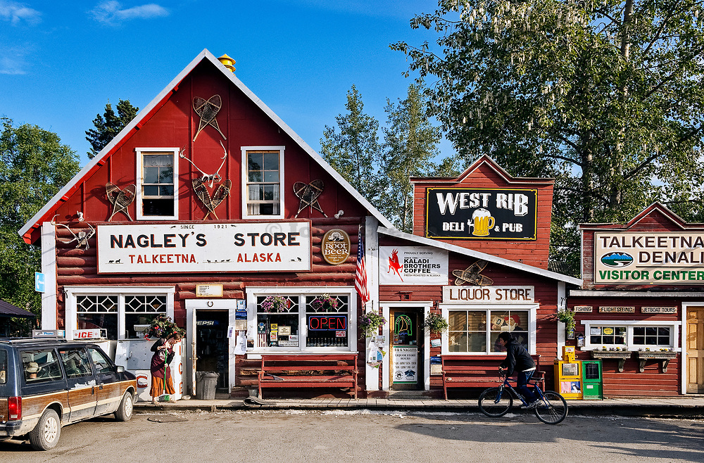 Nagley's store, Talkeetna, Alaska, AK, USA