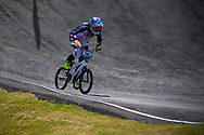 #196 (GAIAN Sean) USA at the UCI BMX Supercross World Cup in Papendal, Netherlands.