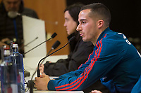 Lucas Vazquez during Spain press conference a few days before soccer match between Spain and Argentina in Madrid , Spain. March 24, 2018. (ALTERPHOTOS/Borja B.Hojas)