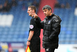Oldham Athletic manager Stephen Robinson points - Mandatory by-line: Matt McNulty/JMP - 03/09/2016 - FOOTBALL - Sportsdirect.com Park - Oldham, England - Oldham Athletic v Shrewsbury Town - Sky Bet League One