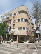 Bauhaus Architecture in Tel Aviv White City Shimon Rozenbaum Street. The White City refers to a collection of over 4,000 buildings built in the Bauhaus or International Style in Tel Aviv from the 1930s by German Jewish architects who emigrated to the British Mandate of Palestine after the rise of the Nazis. Tel Aviv has the largest number of buildings in the Bauhaus/International Style of any city in the world. Preservation, documentation, and exhibitions have brought attention to Tel Aviv's collection of 1930s architecture.