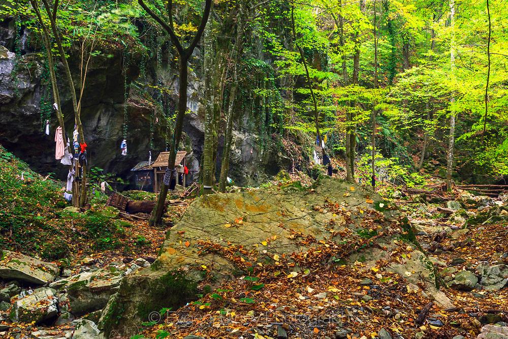 Altar of Indipashs in Strandzha Mountain