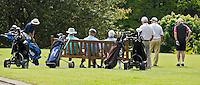 DUNMURRY, BELFAST - Oudere heren spelen de herenochtend op Malone GC. Copyright KOEN SUYK