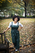 Philadelphia, PA - October 31, 2019: Portraits of Kalisa Marie Martin.<br /> <br /> <br /> Photos by Clay Williams.<br /> <br /> © Clay Williams / claywilliamsphoto.com