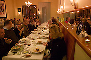 Pilar Restaurant, Napa, California. Napa Valley. Pilar Sanchez and her husband Didier Lenders are the owners and chefs.