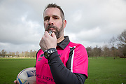 Scott Garson, Practice Manager at Cartmell Shepherd Solicitors and rugby referee