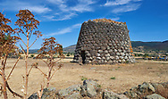 Picture and image of the prehistoric Nuragic ruins of Nuraghe Santa Sabina, archaeological site, Middle Bronze age , Silanus ,  Sardinia. .<br /> <br /> If you prefer you can also buy from our ALAMY PHOTO LIBRARY  Collection visit : https://www.alamy.com/portfolio/paul-williams-funkystock/nuraghe-santa-sabina-sardinia.html<br /> Visit our PREHISTORIC PLACES PHOTO COLLECTIONS for more   photos  to download or buy as prints https://funkystock.photoshelter.com/gallery-collection/Prehistoric-Neolithic-Sites-Art-Artefacts-Pictures-Photos/C0000tfxw63zrUT4
