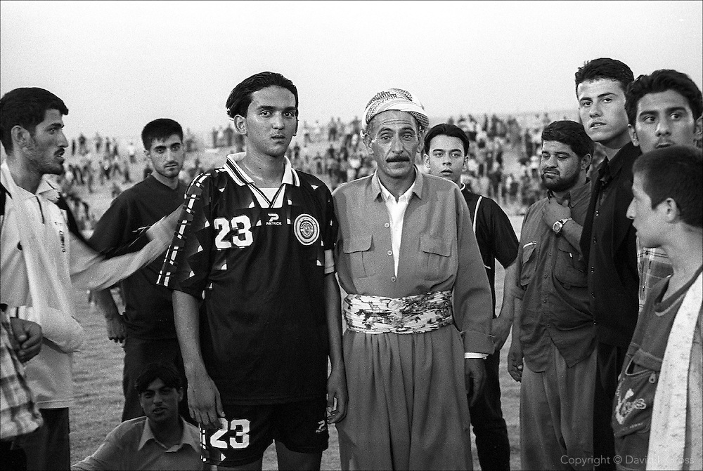 After the Iraqi national football (soccer) team beat the Kurdistan all-city team (3-0) in Erbil, locals rushed to the field to be photographed with the captain of the Iraqi team, Nashat Akram. ..Nashat Akram Abid Ali made his name as the star player in Iraq's U-17s, managed by Ammo Baba, which finished 2nd in their Asian Cup qualifiers group in July, 2000.