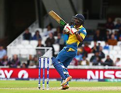 June 8, 2017 - London, United Kingdom - Asela Gunaratne of Sri Lanka. during the ICC Champions Trophy match Group B between India and Sri Lanka at The Oval in London on June 08, 2017  (Credit Image: © Kieran Galvin/NurPhoto via ZUMA Press)