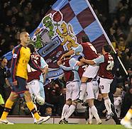 Burnely v Arsenal 021208
