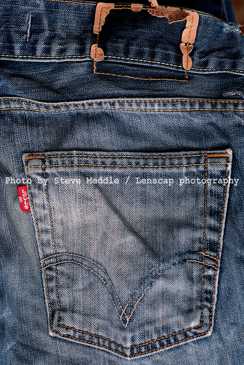 Levi's Jeans Label, Close-Up, May 2010