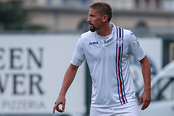 July 28, 2018 - Trento, TN, Italy - Gaston Ramirez during the Pre-Season friendly between Sampdoria and Parma, in Trento on July 28, 2018, Italy  (Credit Image: © Emmanuele Ciancaglini/NurPhoto via ZUMA Press)