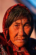 Chukchi lady, Chukotka, Siberia, Russia, Arctic