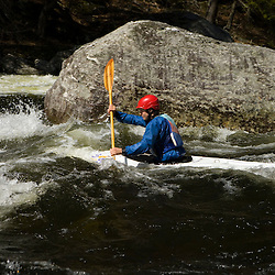 """Kayaking """"The Dumplings"""" on the West River in Jamaica, VT.  Jamaica State Park"""