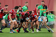 Gloucester's Jack Stanley during the Gallagher Premiership Rugby match between Gloucester Rugby and Harlequins at the Kingsholm Stadium, Gloucester, United Kingdom on 14 September 2020.