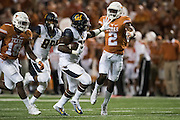 AUSTIN, TX - SEPTEMBER 19:  Vic Enwere #23 of the California Golden Bears breaks free against the Texas Longhorns on September 19, 2015 at Darrell K Royal-Texas Memorial Stadium in Austin, Texas.  (Photo by Cooper Neill/Getty Images) *** Local Caption *** Vic Enwere