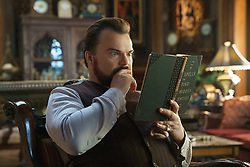 """Jack Black plays Uncle Jonathan, a warlock desperate to prevent the return of a dark force, in """"The House With A Clock in Its Walls,"""" (2018)"""