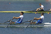 2005 FISA Rowing World Cup Munich,GERMANY. 19.06.2005;.Photo  Peter Spurrier. .email images@intersport-images...[Mandatory Credit Peter Spurrier/ Intersport Images] Rowing Course, Olympic Regatta Rowing Course, Munich, GERMANY