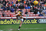 Matthew Kennedy of Port Vale takes corner  during the Sky Bet League 1 match between Sheffield Utd and Port Vale at Bramall Lane, Sheffield, England on 20 February 2016. Photo by Ian Lyall.