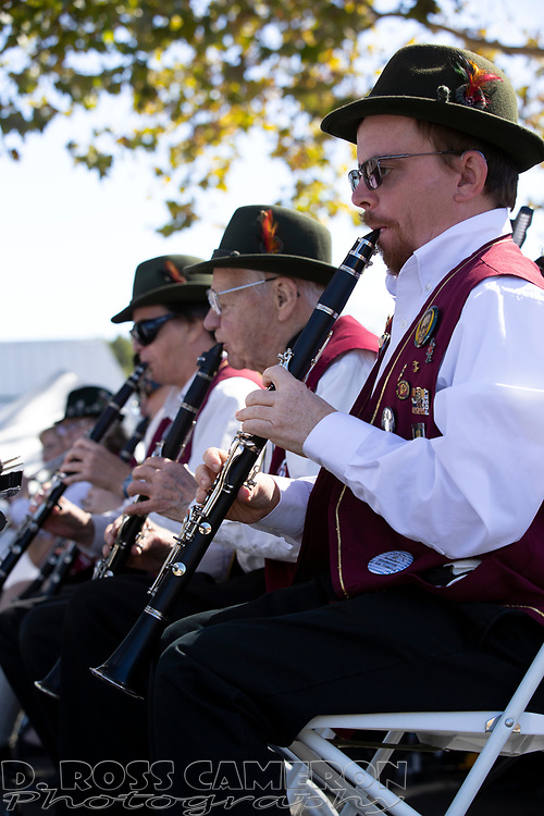 Scene from the opening day of the 12th annual Oaktoberfest street fair in the Dimond District of Oakland, Calif., Saturday, Oct. 5, 2019. (Photo by D. Ross Cameron)
