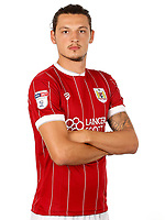 Milan Djuric of Bristol City  - Mandatory by-line: Matt McNulty/JMP - 01/08/2017 - FOOTBALL - Ashton Gate - Bristol, England - Bristol City Headshots