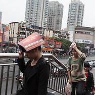 China, Shanghai. Quipu market