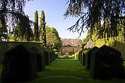 "Les Jardins de Manoir d""Eyrignac gardens of hornbeam, cypress and boxwod at Salignac near Sarlat, the Dordogne, France"