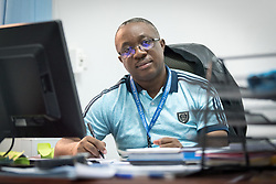 29 May 2019, Maroua, Cameroon: Sheldon Munihire Bihira, Protection Officer and acting head of office at UNHCR in Maroua.