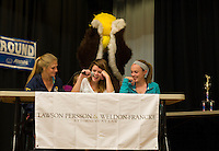 Lakes Region Scholarship Foundation annual Spelling Bee at Laconia High School.  Karen Bobotas/for the Laconia Daily Sun