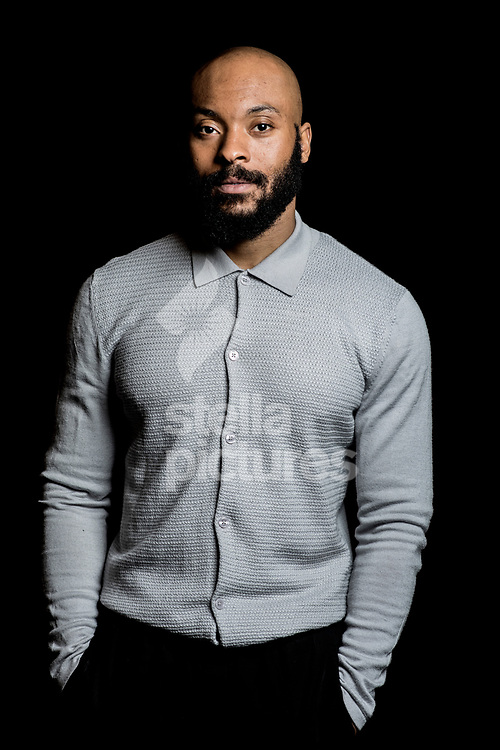 British actor and playwright Arinze Kene pictured at Toynbee Studios, London.<br /> Picture by Daniel Hambury/Stella Pictures Ltd 07813022858<br /> 19/12/2017