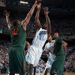 2012-01-12 Miami at North Carolina basketball
