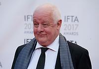 Director Jim Sheridan at the 2017 IFTA Film & Drama Awards at the Round Room of the Mansion House, Dublin,  Ireland Saturday 8th April 2017.