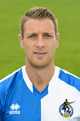 Lee Brown of Bristol Rovers - Mandatory byline: Dougie Allward/JMP - 07966386802 - 03/08/2015 - FOOTBALL - Bristol Rovers Training Ground -Bristol,England - Bristol Rovers Headshots