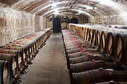 barrel aging cellar ch lafite rothschild pauillac medoc bordeaux france