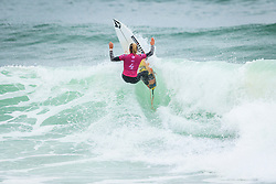 Coco Ho (HAW) placed 1 st in Heat 2 of Round 2 at the  Quiksilver and Roxy Pro France 2018