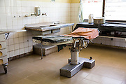 The orthopaedic cast room inside St Walburg's Hospital, Nyangao. Lindi Region, Tanzania.