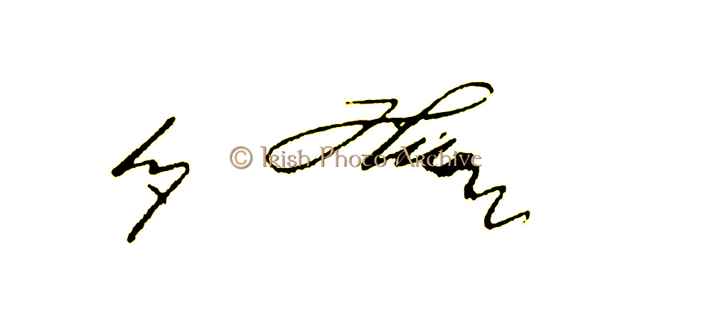 Signature of Adolf Hitler (1889–1945) was an Austrian-born German politician who led the National Socialist German Workers Party. He was Chancellor of Germany (1933–1945) and Führer of Germany (1934–1945).