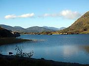 The Upper Lake near The  Eagles Nest Mountain on the main Killarney to Kenmare road in County Kerry, Ireland.<br /> Photo: Don MacMonagle <br /> e: info@macmonagle.com
