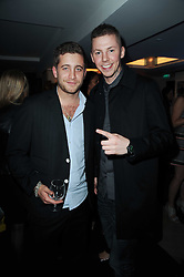 Left to right, TYRONE WOOD and rapper PROFESSOR GREEN at a party hosted by Links of London in celebration of Cat DeeleyÕs role as global brand ambassador of Links of London and to launch the AW10 campaign held at The Club at The Ivy (The Loft), 9 West Street, WC2 on 16th September 2010.<br /> Left to right, TYRONE WOOD and rapper PROFESSOR GREEN at a party hosted by Links of London in celebration of Cat Deeley's role as global brand ambassador of Links of London and to launch the AW10 campaign held at The Club at The Ivy (The Loft), 9 West Street, WC2 on 16th September 2010.