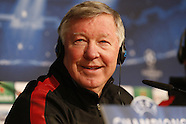 Man Utd, Real Madrid Managers Press Conference & Training