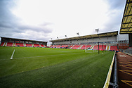 General View during the FA Women's Super League match between Manchester United Women and Reading LFC at Leigh Sports Village, Leigh, United Kingdom on 7 February 2021.