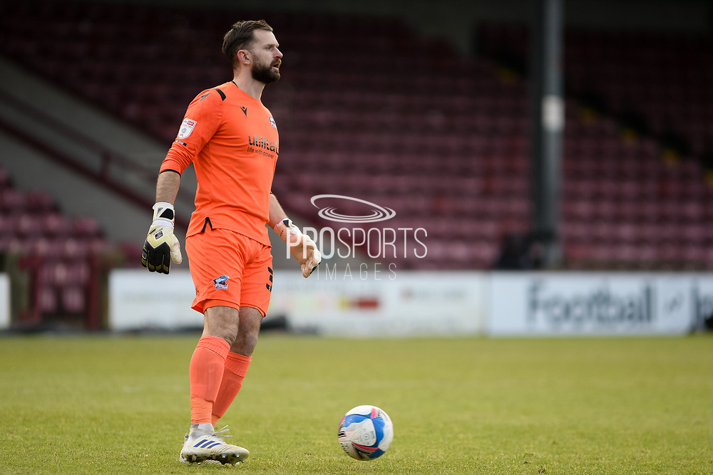 Scunthorpe United Mark Howard (33) full length portrait during the EFL Sky Bet League 2 match between Scunthorpe United and Grimsby Town FC at the Sands Venue Stadium, Scunthorpe, England on 23 January 2021.