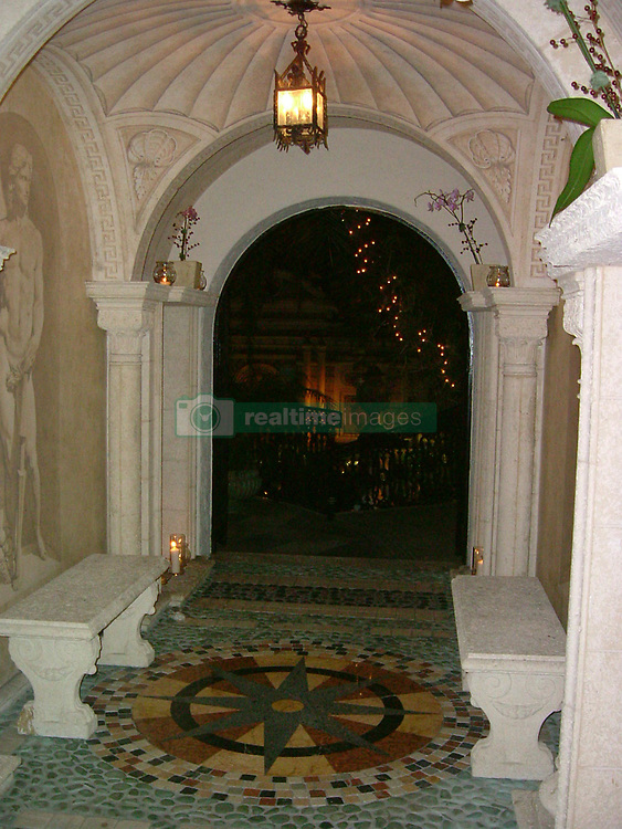 MIAMI BEACH; FL-December 21, 2005; (EXCLUSIVE COVERAGE) Former Versace House now owned by Peter Loftin and called Casa Casuarina; in Miami Beach, Florida - Update - INSIDE the Former Versace House where Ricky Martin is filming The third series of American Crime Story which follows the 1997 murder of fashion designer Gianni Versace. 10 May 2017 Pictured: Inside Versace Mansion. Photo credit: TBA / MEGA TheMegaAgency.com +1 888 505 6342