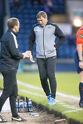 Hibernian's manager Alan Stubbs. <br /> Raith Rovers 2 v 1 Hibernian, Scottish Championship game player at Stark's Park, 18/3/2016.