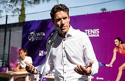 PORTOROZ, SLOVENIA - SEPTEMBER 13:  Gregor Krusic  during press conference of WTA 250 Zavarovalnica Sava Portoroz at SRC Marina, on September 13, 2021 in Portoroz / Portorose, Slovenia. Photo by Vid Ponikvar / Sportida