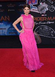 """Hunter Schafer, Alexa Demie and Barbie Ferreira at the """"Spider-Man: Far From Home"""" world premiere held at the TCL Chinese Theatre IMAX on June 26, 2019 in Hollywood, CA. © O'Connor/AFF-USA.com. 26 Jun 2019 Pictured: Marisa Tomei. Photo credit: O'Connor/AFF-USA.com / MEGA TheMegaAgency.com +1 888 505 6342"""