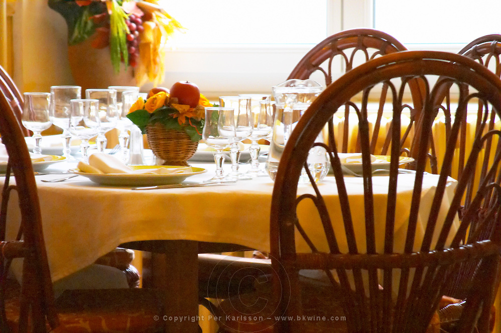 Hotel le Tassigny with the restaurant Le Tournedos in Lezignan-Corbieres. Les Corbieres. Languedoc. France. Europe.