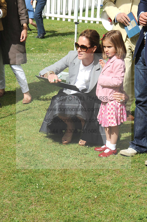 TRINNY WOODALL and her daughter LYLA ELICHAOFF at the Macmillan Dog Day in aid of Macmillan Cancer Support held at the Royal Hospital Chelsea, London on 8th July 2008.<br /><br />NON EXCLUSIVE - WORLD RIGHTS