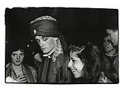 Gottfried von Bismarck. Sultans Ball. Oxford town Hall. 1986
